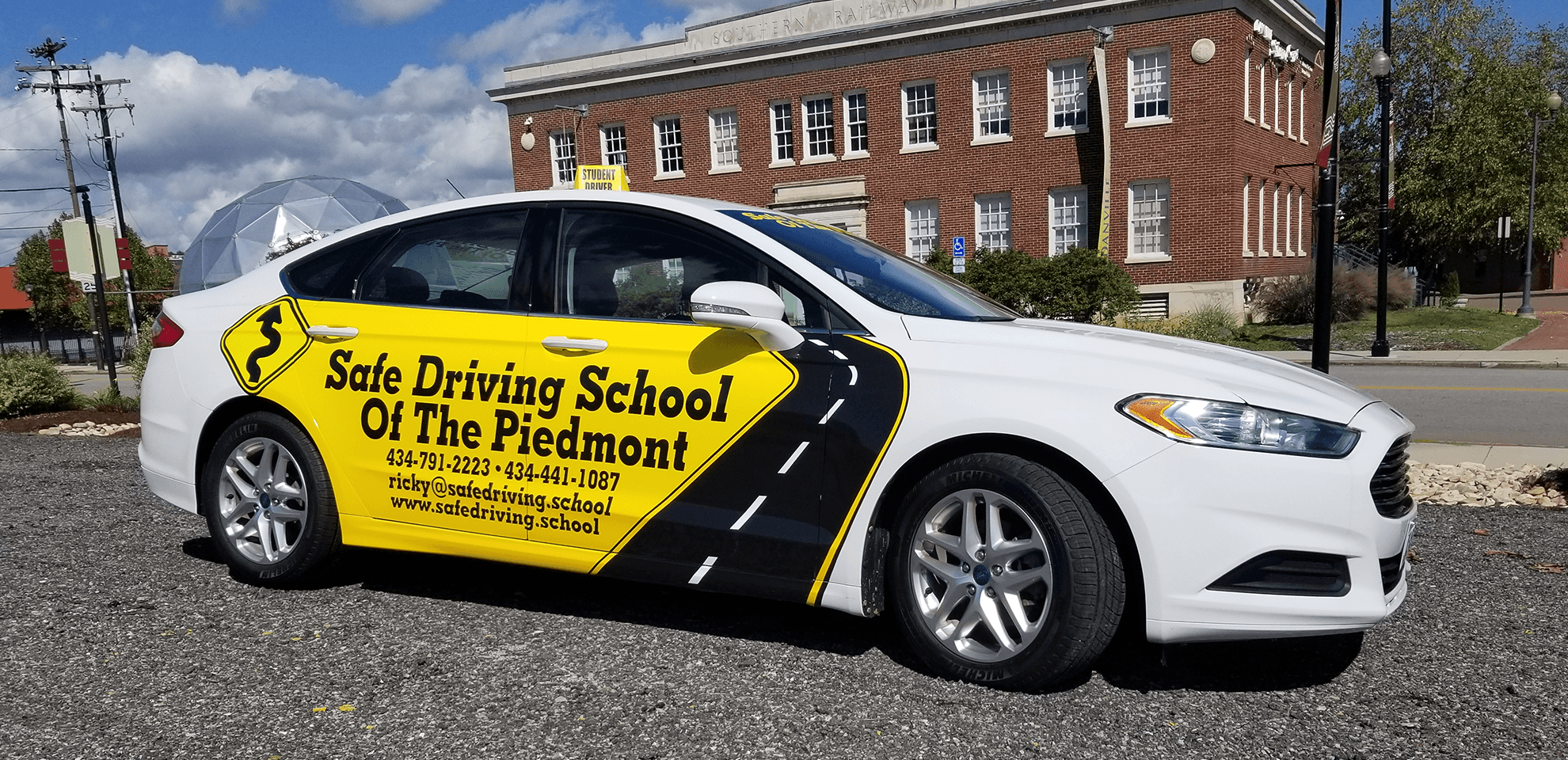 safe driving school of the piedmont car